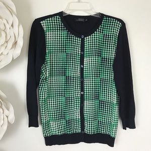 THE LIMITED Cardigan Sweater Button Up Lightweight